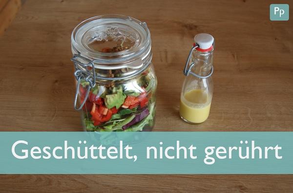 Shaking Salads - die gesunde Alternative für die Mittagspause