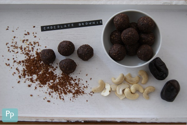 Chocolate Brownie Energy Balls