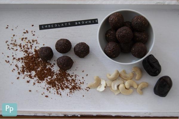 Chocolate Brownie Energy Balls