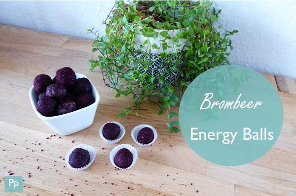 Brombeer Energy Balls