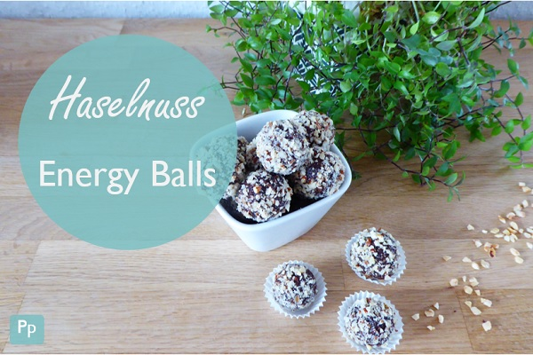 Haselnuss Energy Balls